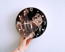 Макет настенных часов