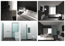 Дзиайн интерьера гостинничного номера