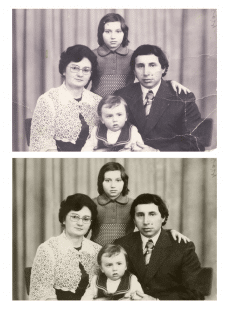 Обработка старых фото