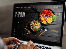Сайт для компании по доставке обедов