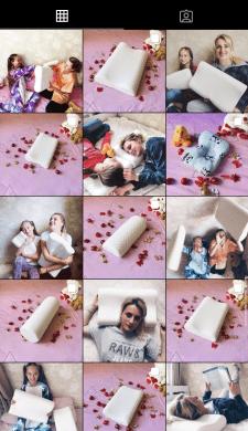 """Упаковка профиля и запуск рекламы. """"Орт. подушки"""""""