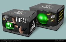 Дизайн упаковки для фитбола
