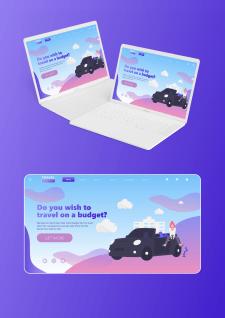 UI/UX: Web design: Travel