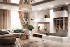 визуализация и дизайн гостинки
