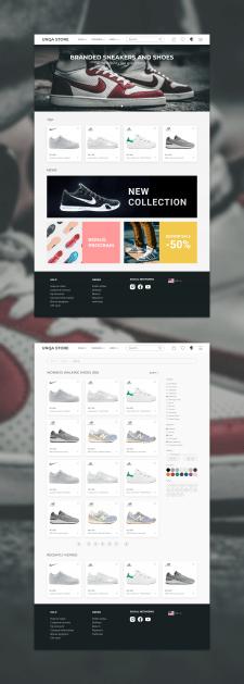 UNQA Store web concept