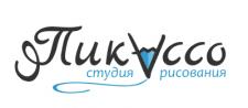 Логотип для студии рисования.. Вектор..