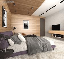 Уютная спальня в ЖК Владимирский