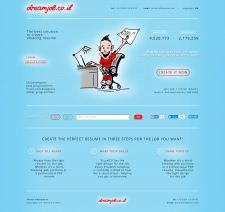 Дизайн сайта кадровой компании