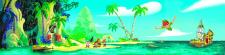 Стена Остров сокровищ 1