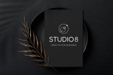 Логотип Студио 8