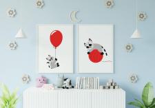 Милі мультяшні ілюстрації з котиками (продаються)