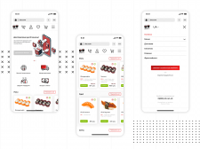 Mobile version of SmakiMaki – Food delivery