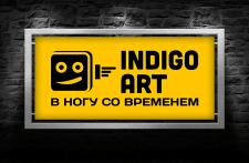Логотип креативного агентства