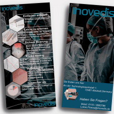 Разработка дизайна флаера для медицинской компании