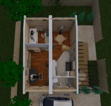 Модульний будиночок