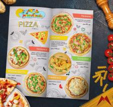 Дизайн меню для піци