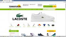 Интернет-магазин товаров для тенниса