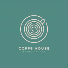 Дизайн логотипа кофейни