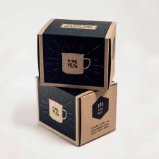 Оформление упаковки для кружки