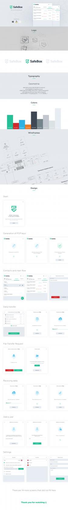 SafeBox - приложение для анонимного обмена файлами