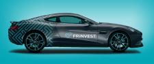Дизайн авто для компании Frinvest