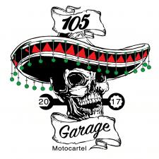 105 Garage Logo