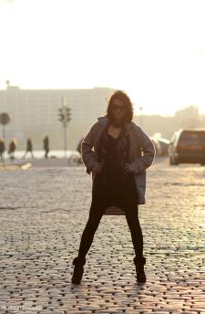 Фотосъемка модели в Риге
