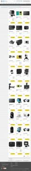 Наполнение интернет магазина электроники, вебасист
