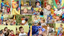 Репортаж с дня рождения в детском садике
