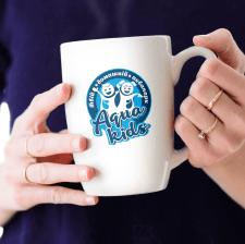 """Детальний варіант логотипу для бренду """"Aqua Kids""""!"""