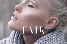 Логотип и съемки рекламной кампании для F.AIR