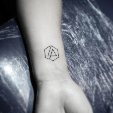 Тату Linkin Park tattoo