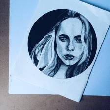 portrait - Inna