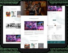 Дизайн сайта для ресторанного комплекса