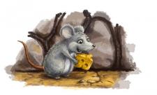сыр с мишкой