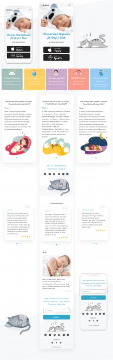 Дизайн мобильной версии (главная страница)