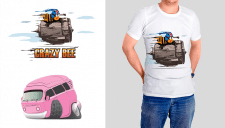 illustration for t-shirts