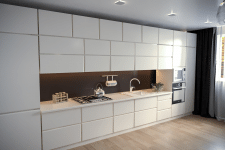 #3ds Max #kitchens
