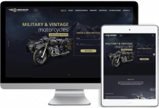 Разработка сайта для продажи мотоциклов