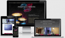 Сайт каталог декоративной штукатурки PRATTA STORE