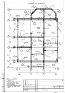 КЖ. Лист 8. Стены фундамента (армирование)