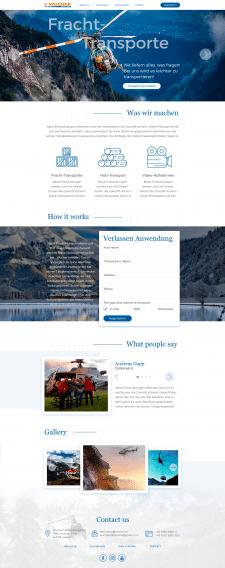 Landing page Wucher