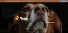 Доработка, редизайн сайта ветеринарной клиники