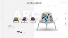 Сайт для сети магазинов элитной мебели
