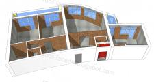 Замеры и моделирование квартиры