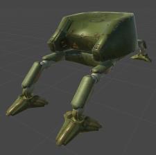 Модель робота (mesh)