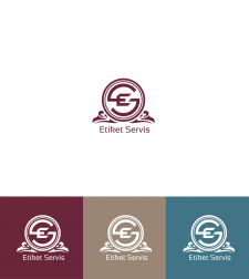 логотип с вензелями для юридической компании
