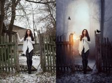 Глубокая обработка фото