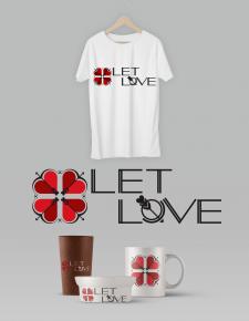 """Логотип для некоммерческой организации """"Let Love"""""""