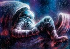 "иллюстрация ""space jockey"""